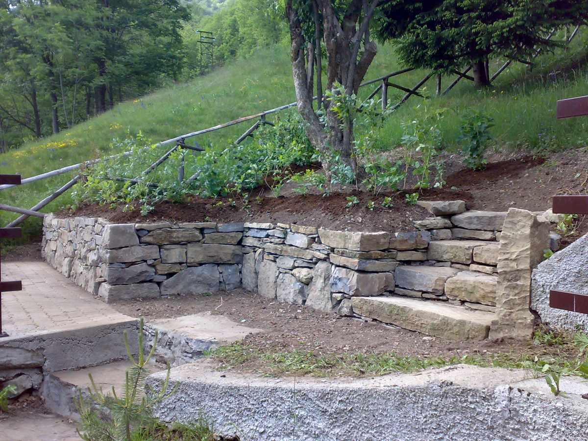Muretti a secco per giardini home visualizza idee immagine - Scale per giardini ...